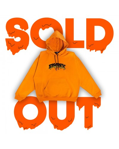 SAAREX HOODIE ORANGE - SOLD OUT