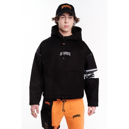 SAAREX HEAVY REFLECTIVE HOODIE - SOLD OUT